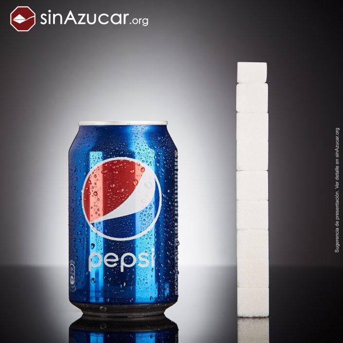gramas de açúcar que tem na Pepsi